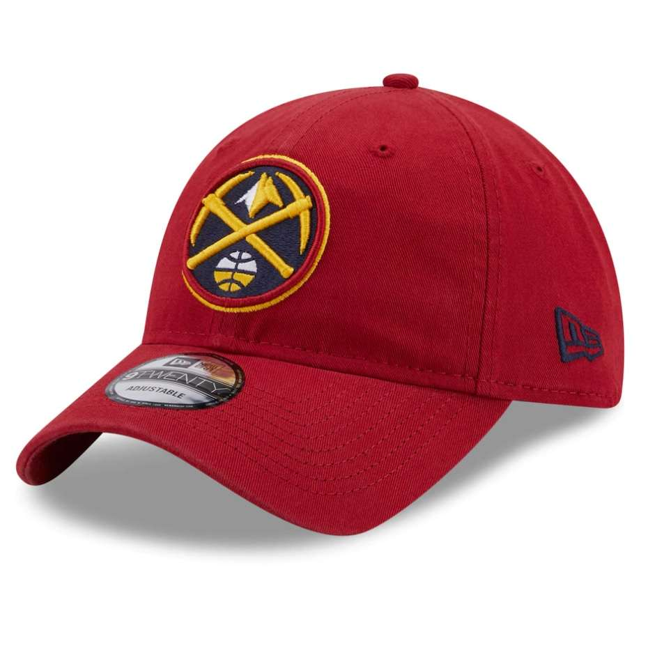 Hat: NBA - Denver Nuggets Red Core Classic Secondary 9TWENTY Photo