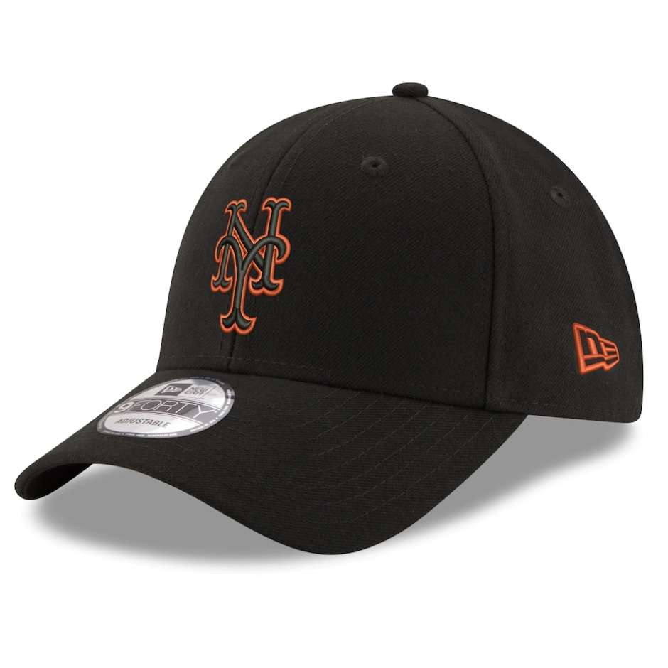 Hat: MLB - New York Mets Black Momentum 9FORTY Photo