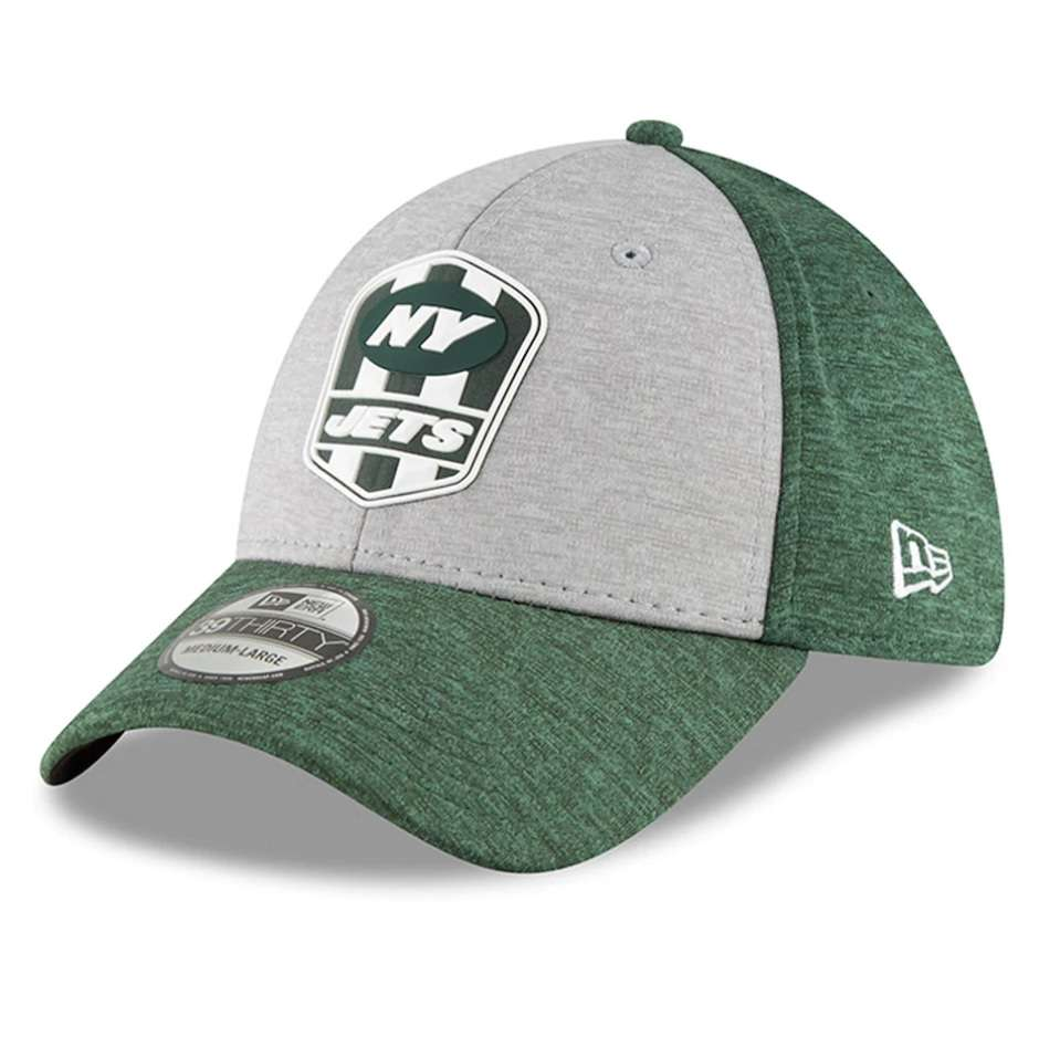 Hat: NFL - New York Jets Heather Sideline Road Official 39THIRTY Photo