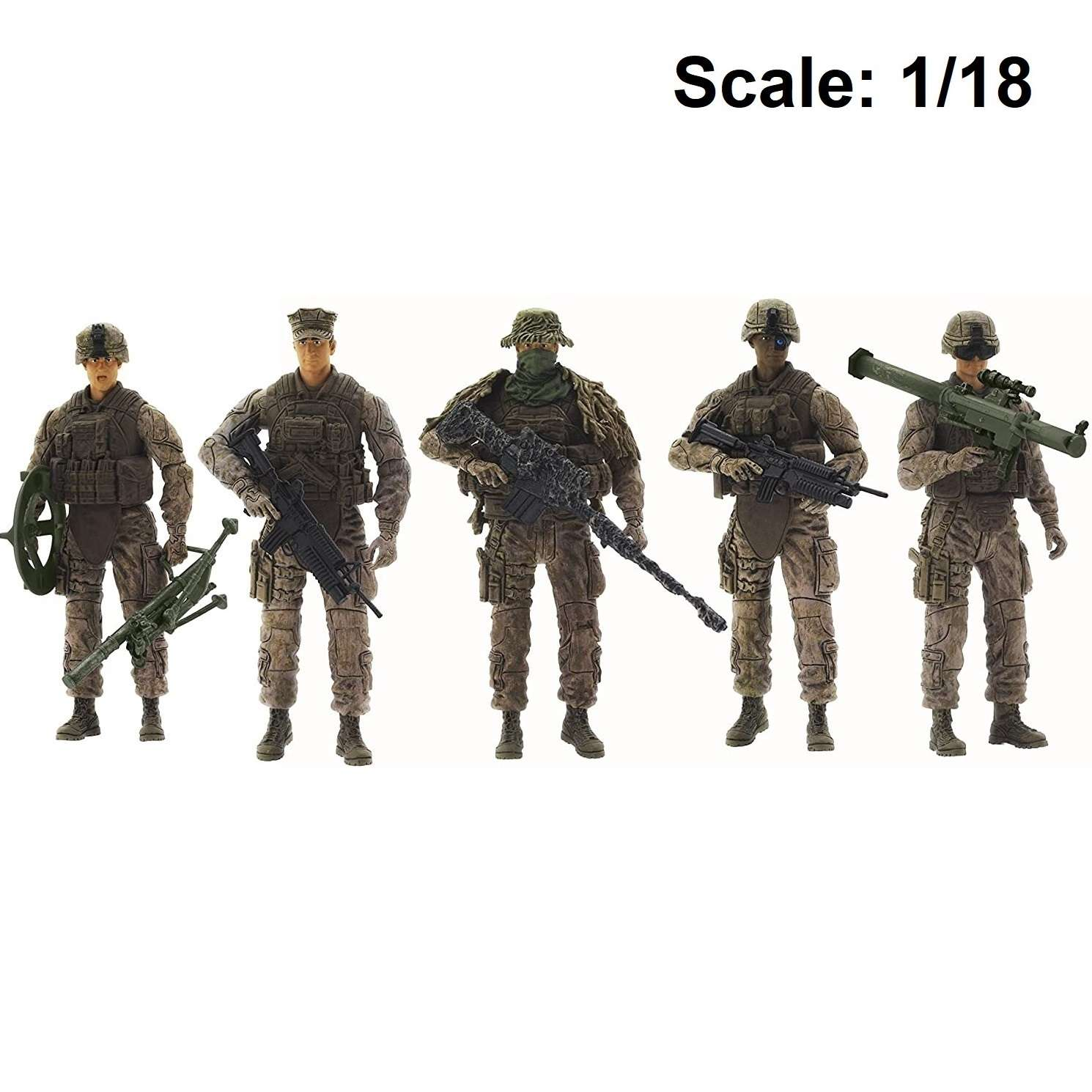 Action Figure: Elite Force - Marine Force Recon 5-Pack Photo