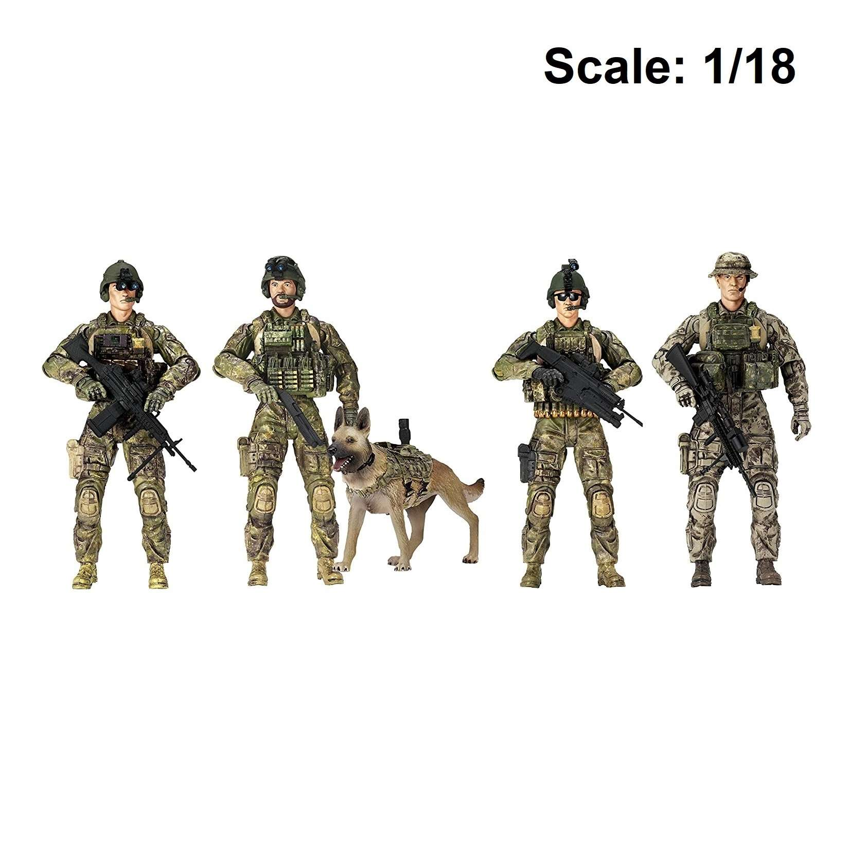 Action Figure: Elite Force - Army Rangers 5-Pack Photo