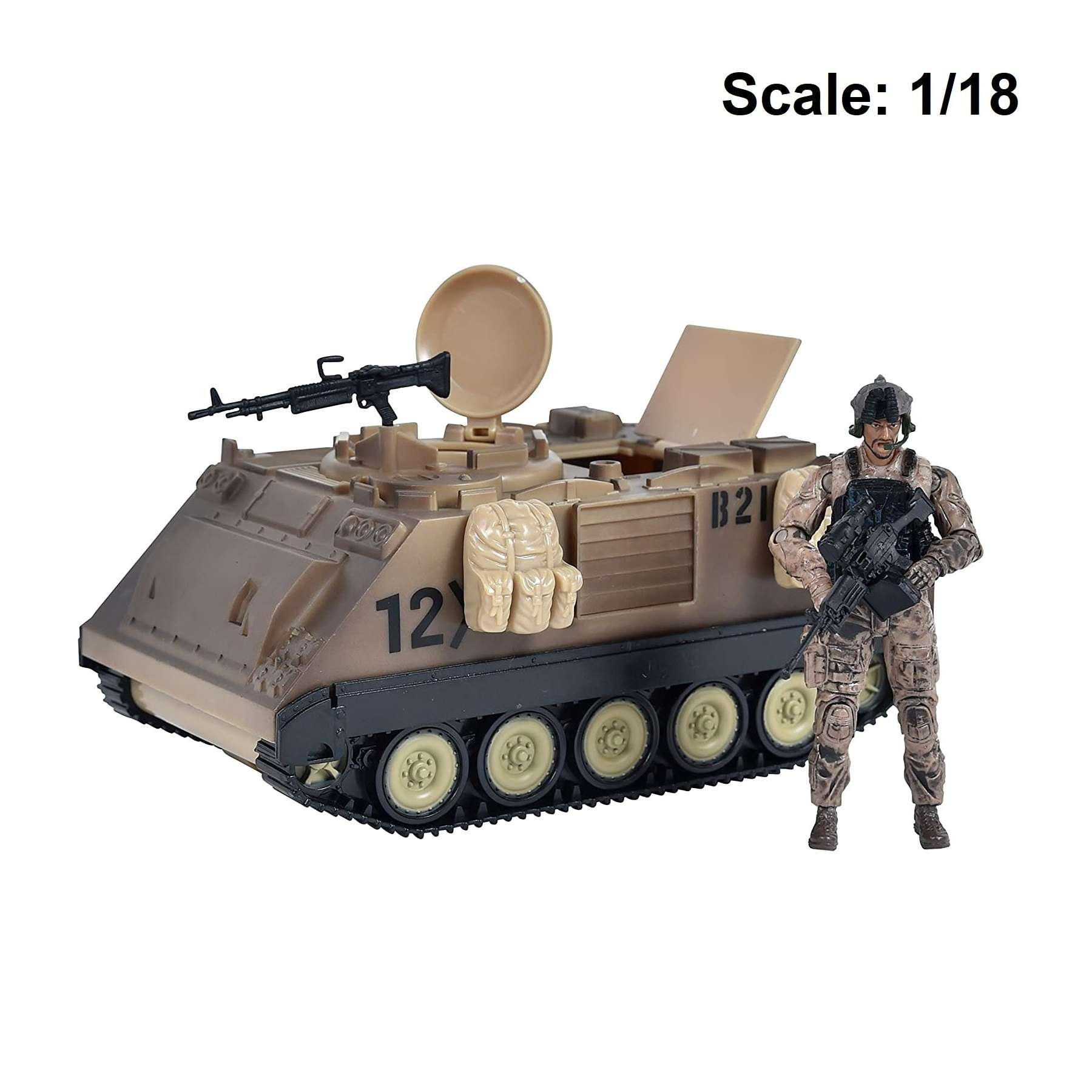 Action Figure: Elite Force - M113 Desert Armored Vehicle Photo