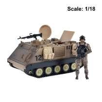Action Figure: Elite Force - M113 Desert Armored Vehicle Photo