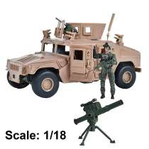 Action Figure: Elite Force - M1114 Up-Armored Humvee Photo