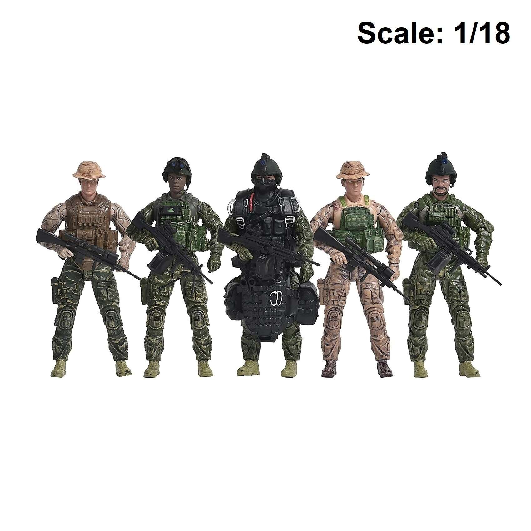 Action Figure: Elite Force - Navy Seals 5-pack Photo