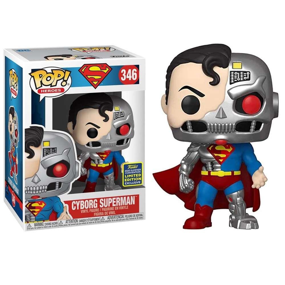 POP!: Superman - Cyborg Superman (SDCC 2020) Photo
