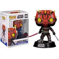 POP!: Star Wars (Clone Wars) - Darth Maul with Darksaber (Exclusive) Photo