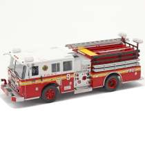 Diecast Car 1/43: Truck - Seagrave Fire Truck New York, 2003 Photo