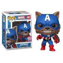 POP!: Marvel - Capwolf (SDCC 2021 Exclusive) Photo