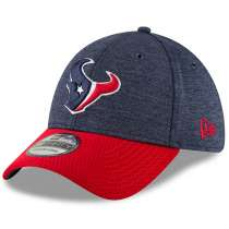 Hat: NFL - Houston Texans Navy/Red Sideline Home Official 39THIRTY Photo