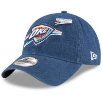 Hat: NBA - Oklahoma City Thunder Denim Draft 9TWENTY Photo