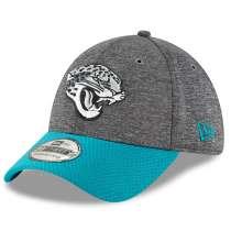 Hat: NFL - Jacksonville Jaguars Gray/Teal Sideline Home Graphite 39THIRTY Photo