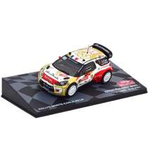 Diecast Car 1/43: Rally - Citroen DS3 WRC #1, Rally Monte Carlo 2013 Photo