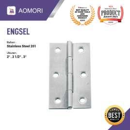 ENGSEL TIPIS RRT STAINLESS STEEL AOMORI - 3 INCH Photo