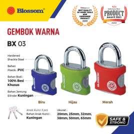 GEMBOK WARNA 63 MM BLOSSOM Photo