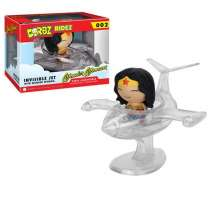 Dorbz Ridez: Invisible Jet with Wonder Woman Photo