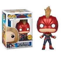 POP!: Captain Marvel - Captain Marvel (Chase) Photo