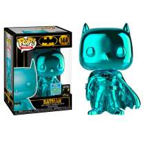 POP!: DC Comics - Batman Teal Chrome  (2019 SDCC Exclusive) Photo